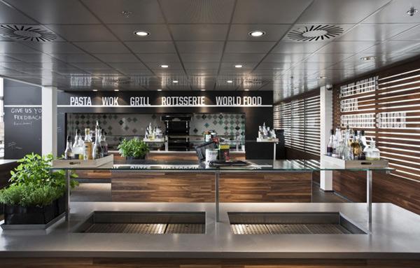 SportsInspired Nike Corporate Canteen Designed by UXUS