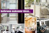 20 Elegant Bathroom Makeover Ideas