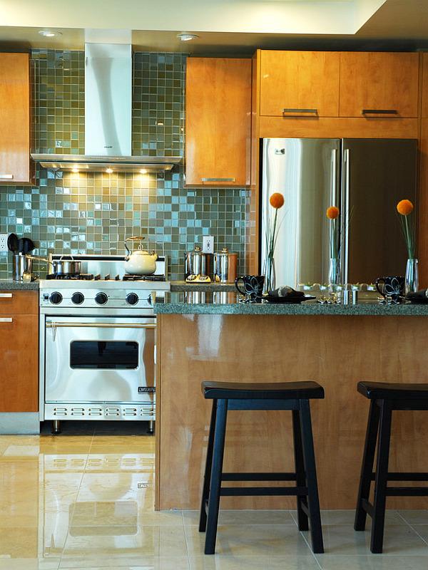 narrow kitchen countertops corner sink 12 unique backsplash designs