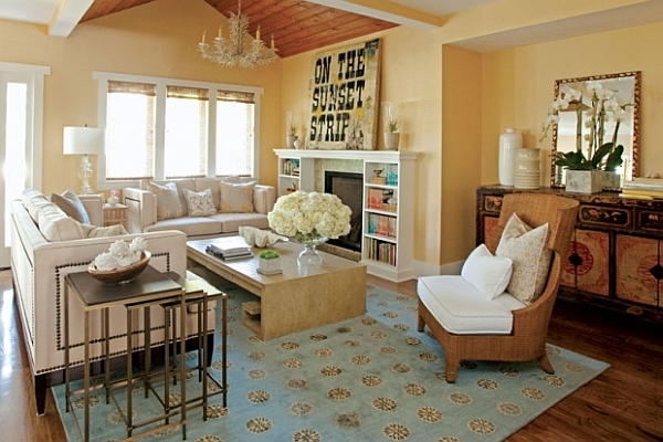 Luxurious Living Room Concepts: 25 Amazing Decorating Ideas