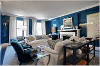 A Glossy Discourse: Home Discourse: Lacquered High Gloss Walls