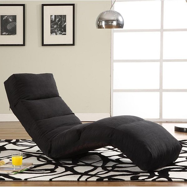 black outdoor rocking chair cushions rattan basket the chaise lounge: adding this classic piece to your home