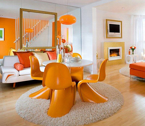 Decorating With Orange: How to Incorporate a Risky Color