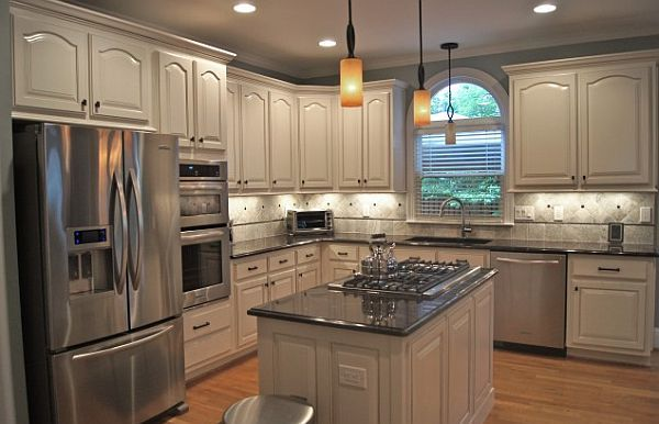 Creative Kitchen Cabinets Faux Finishes