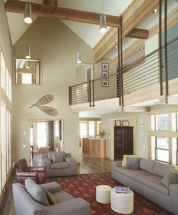 High Ceiling Living Room Pinterest