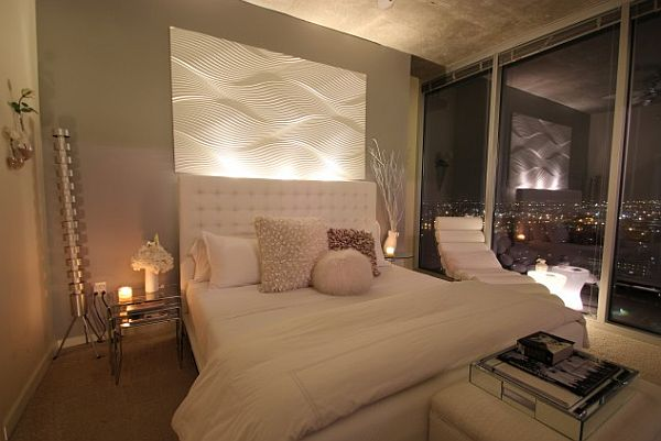 grey and white contemporary bedroom How to Create a More Serene Bedroom