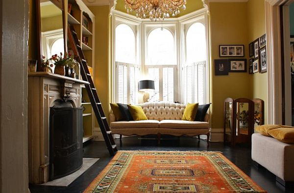 corner sofa cover design firm sofas leather how to utilize the bay window space