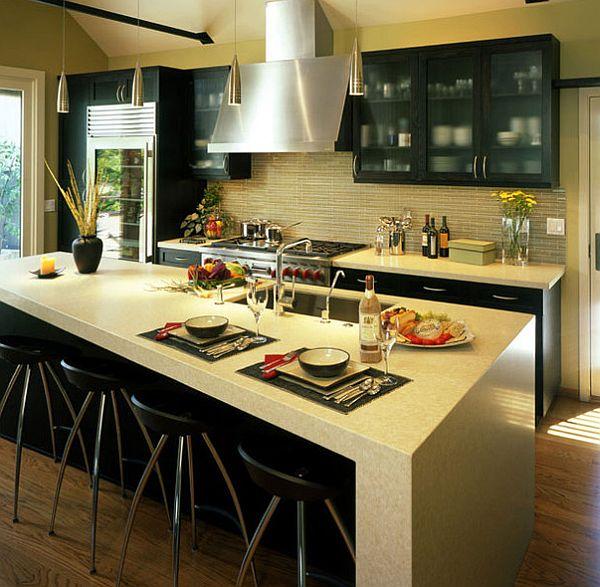 best kitchen countertop high table top materials