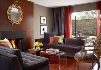 Living Room Ideas Red And Grey