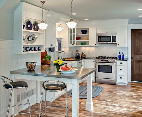 small space kitchen Making the Most of Small Kitchens