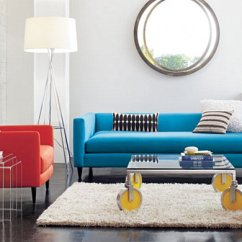 Navy Blue Sofa Living Rooms Country Room Sets Style: 20 Chic Seating Ideas