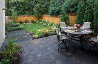 contemporary backyard retreat landscape - Decoist