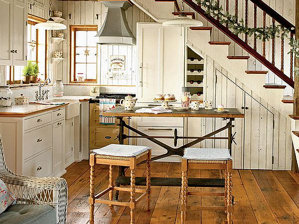country cottage kitchen designs utensils strainer decorating with a theme decor by kelli kaufer view in gallery white