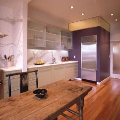 Kitchen Decorating Ideas Walnut Table With Purple: Purple Rooms Designs