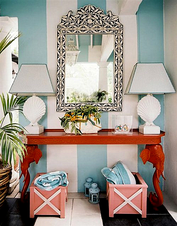 Make A Splash With Tropical Interior Design