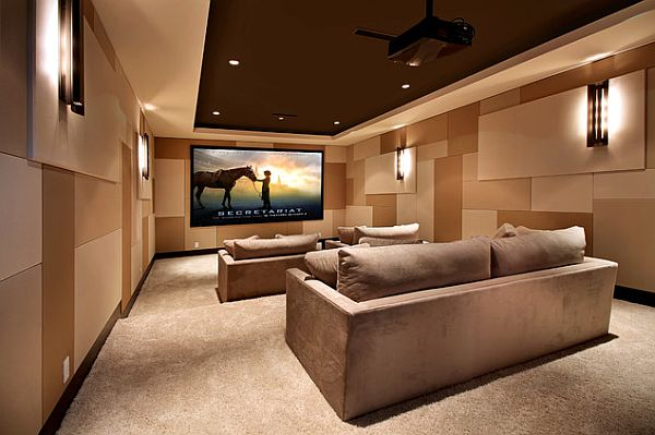 9 Awesome Media Rooms Designs: Decorating Ideas For A