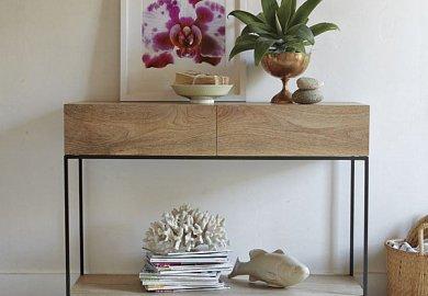 Modern Black Console Sofa Tables Allmodern