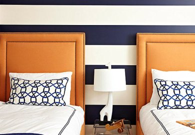 Paint Ideas For Bedrooms Stripes