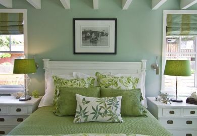Bedroom Decorating Ideas In Green