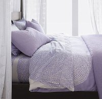 lavender modern teen bedding - Decoist