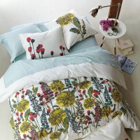 modern floral teen bedding - Decoist