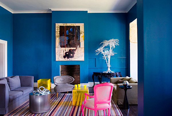 And Neon Pink Is Equally Fetching When Set Against The Background Of Deep Gray Wallpaper With