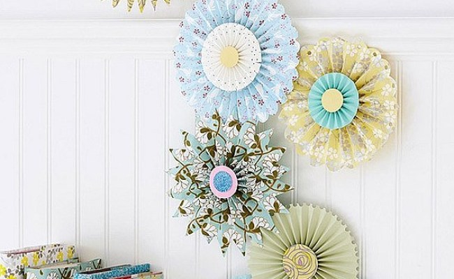 Paper Inspired Décor Fun Ways For You And Your Kids To