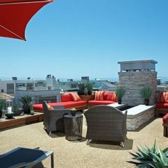 Modern Sofa Dallas 36 Inch Table Decorating A Rooftop Space In Five Easy Steps