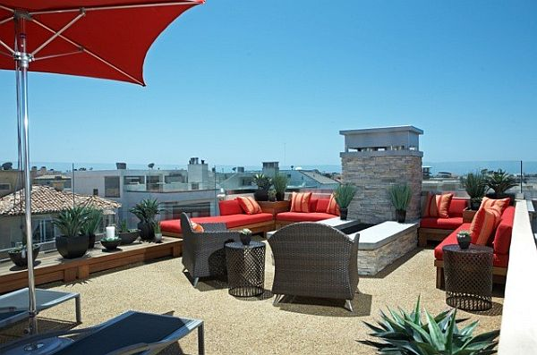 decorating rooftop space in five
