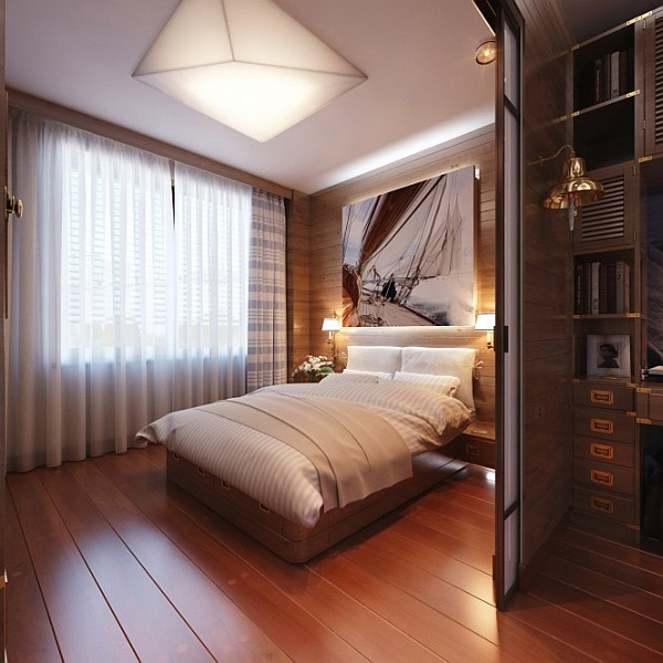 Travel Inspired Bedroom Designs Are Sophisticated And Elegant