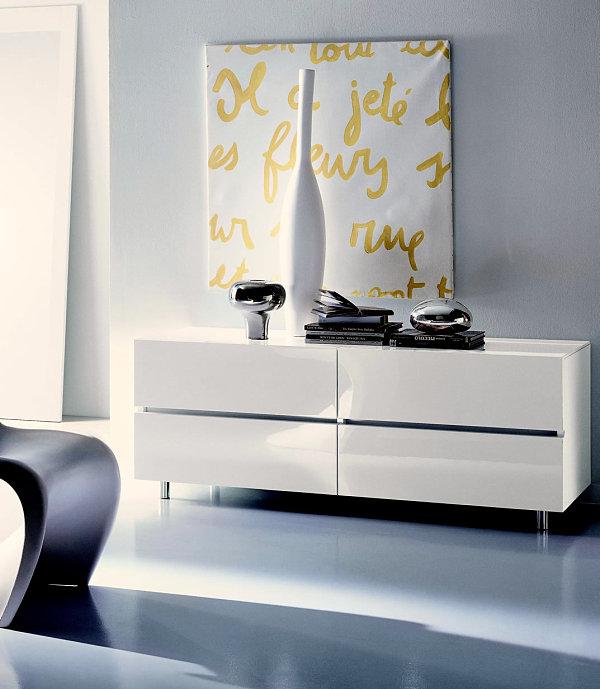 Black Lacquer Bedroom Set