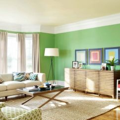 Living Room Paint Ideas Pictures Modern Black And White Find Your Home S True Colors View In Gallery A Bright Green