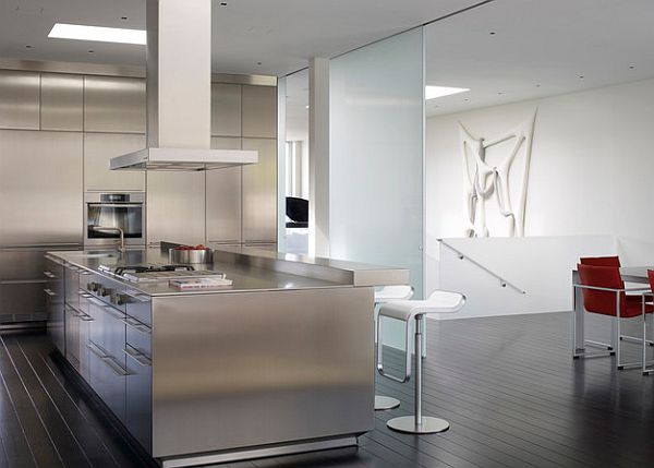 backsplashes for kitchens black bench kitchen table stainless steel countertops are exquisite and sturdy