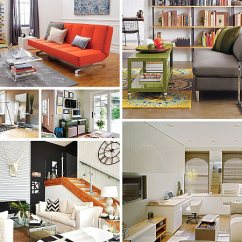 Small Living Room Design Ideas Low Table Space Saving For Rooms