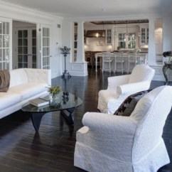Living Rooms With Dark Wood Floors Room Wall Colors Brown Furniture How To Use Brighten Your Dull Home View In Gallery