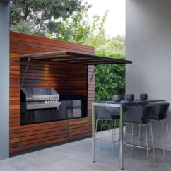 Summer Kitchen Ideas Electrical Outlets Creating The Ideal Outdoor This Fall View In Gallery Wood