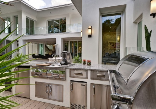 summer kitchens kitchen exhaust repair creating the ideal outdoor this fall view in gallery modern idea