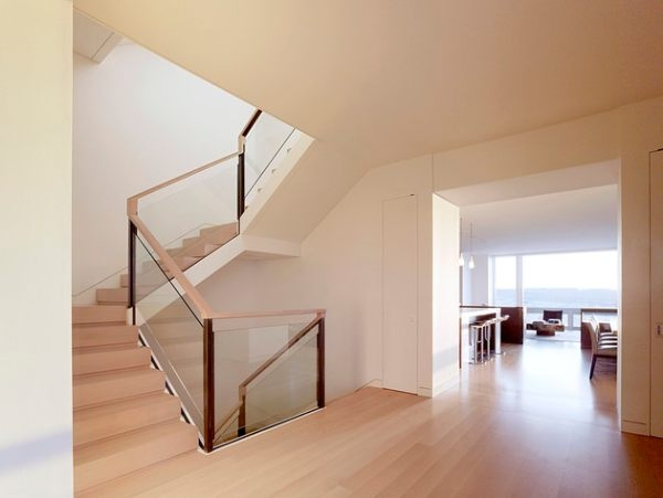 Modern Handrails Adding Contemporary Style To Your Home S | Wood And Glass Handrail