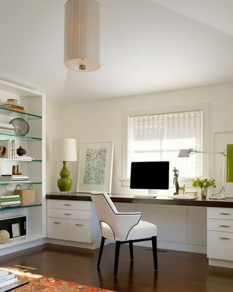 black and white home office 24 Minimalist Home Office Design Ideas For a Trendy Working Space