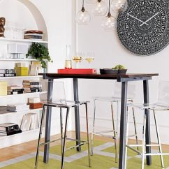 Modern Kitchen Stools Childrens Play Kitchens 20 For An Exquisite Meal Acrylic And Plastic Barstools