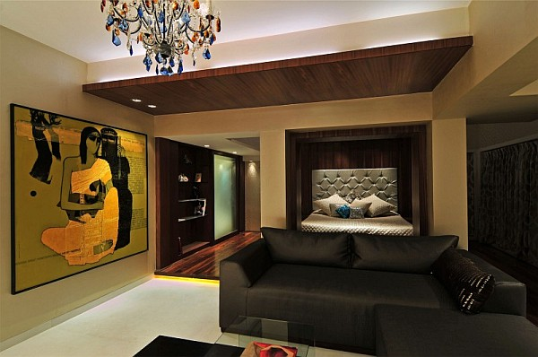 Stylish Contemporary Home in India Revamped with Lavish Interiors