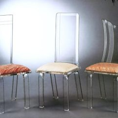 Unusual Chair Legs Swing Stand Uk More Acrylic Furniture Finds For A Sleek Style