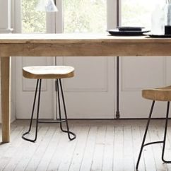 Wooden Kitchen Stools Www Ikea Cabinets 20 Modern For An Exquisite Meal View In Gallery Oak Barstools The