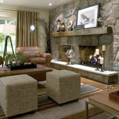 Pictures Of Living Rooms With Stone Fireplaces Cute Room Decor 40 Fireplace Designs From Classic To Contemporary Spaces Blends Effortlessly The Natural Setting Around View In Gallery