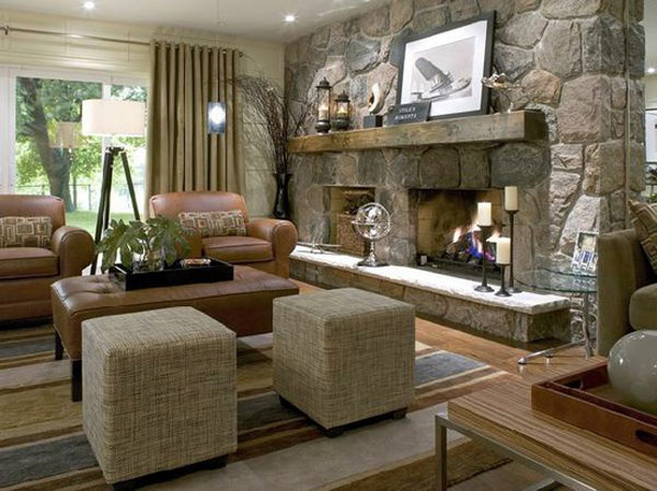 Electric Fireplace India 40 Stone Fireplace Designs From Classic To Contemporary Spaces