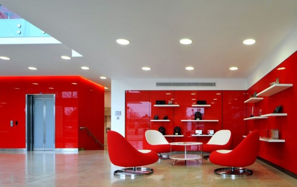 Morgan Lovell Paints the New Rackspace Office Red With