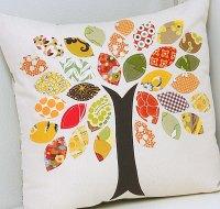 A fall pillow Thanksgiving craft project idea