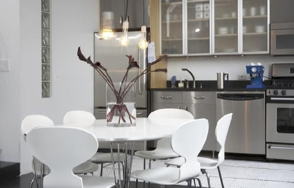 chairs for kitchen table rug stunning tables and the modern home view in gallery lacquer image