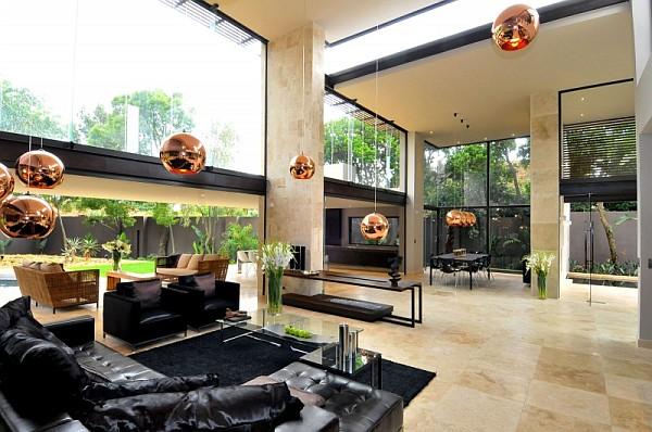 South African Midcentury Villa Renovation by Nico Van Der