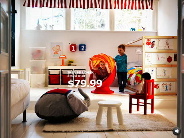 IKEA Kids Rooms Catalog Shows Vibrant and Ergonomic Design Ideas